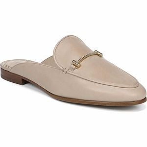 Sam Edelman leather mules nude size 10 M New